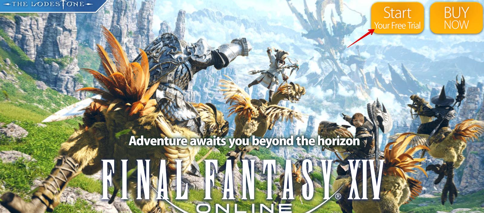 Final Fantasy XIV Online Free Trial