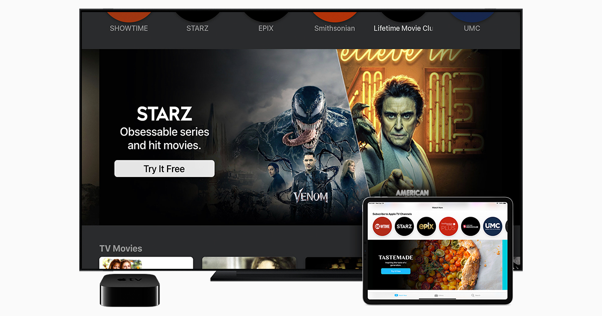 Starz device support