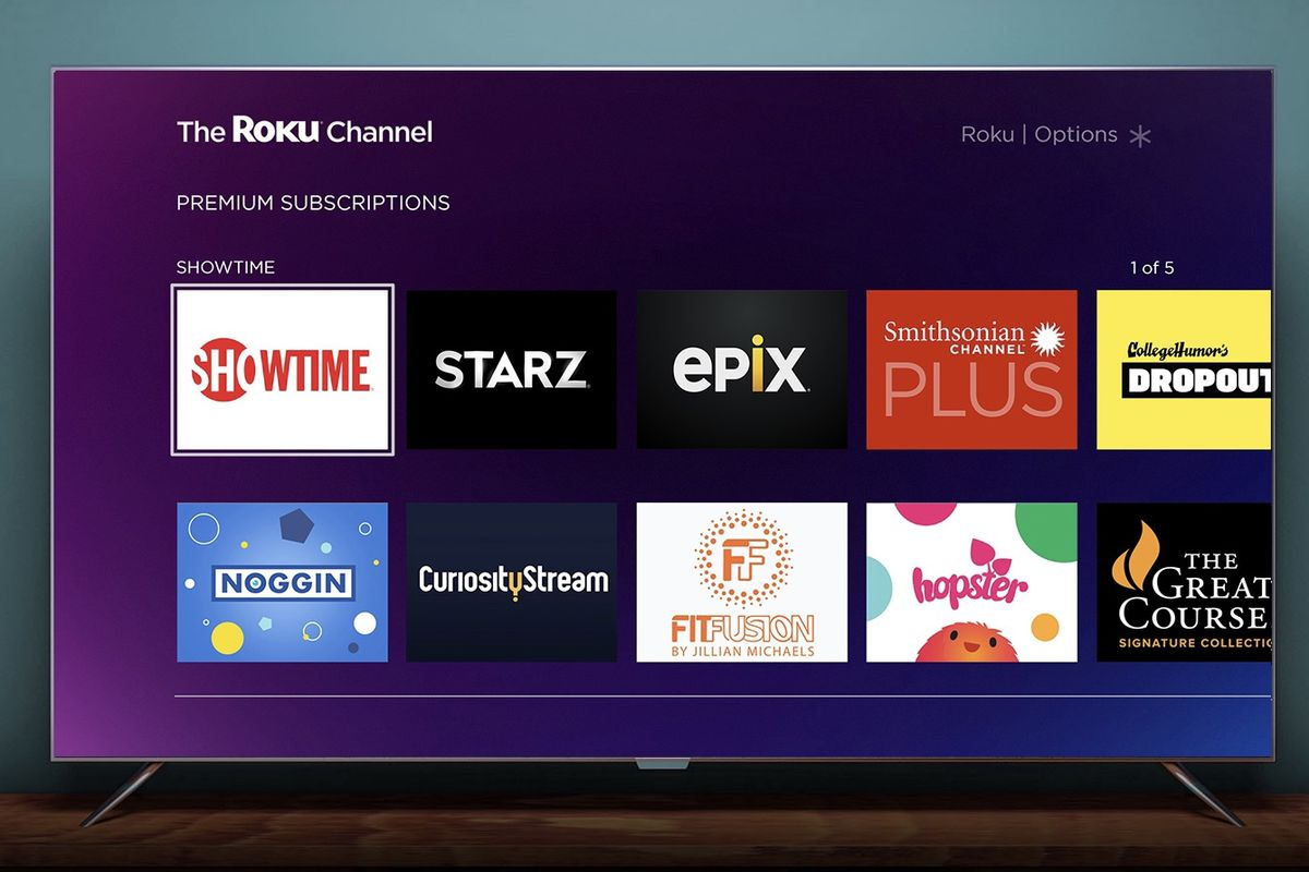 30-day free trial with Roku