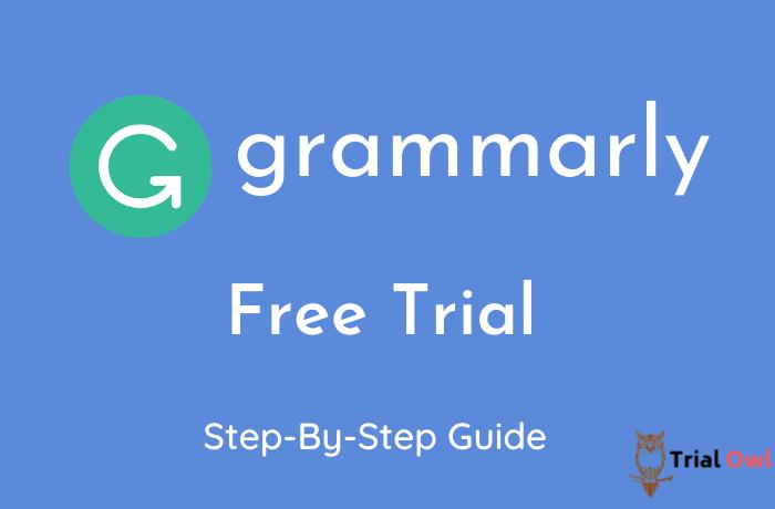 Grammarly Free Trial
