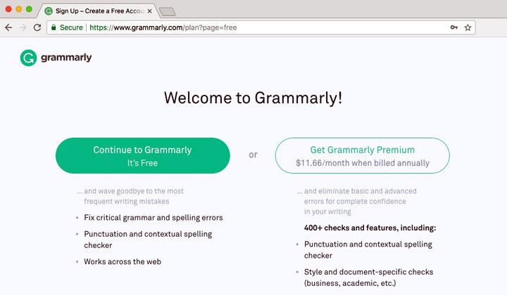 Get Grammarly Premium