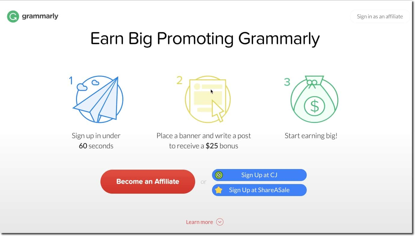 Earn Big Promoting Grammarly