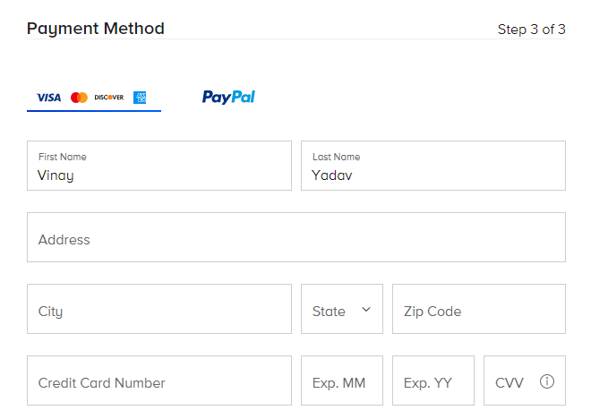 Payment Billing