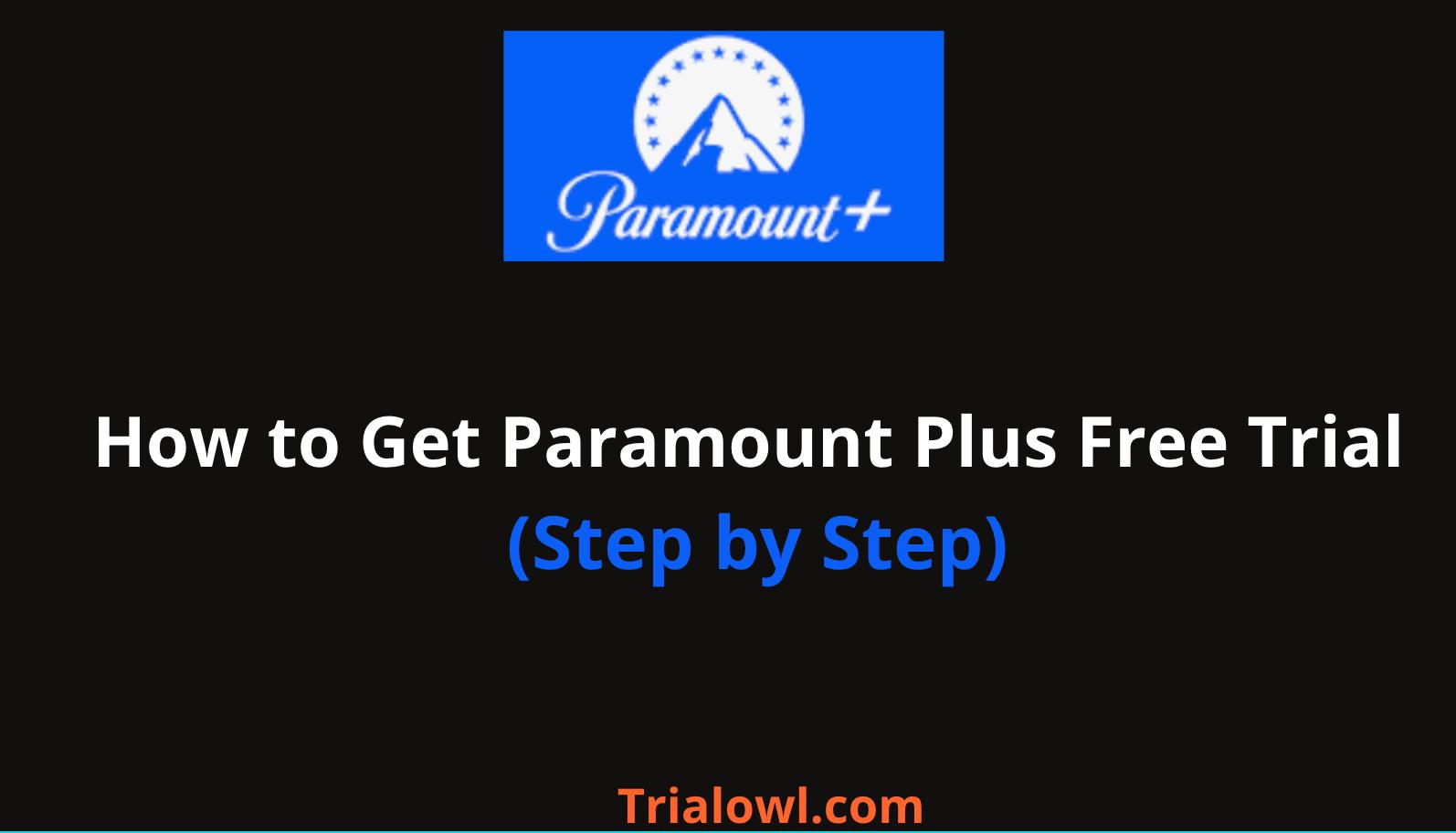 Paramount Plus Free Trial