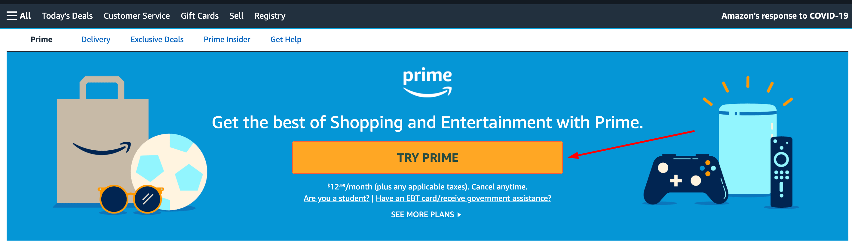 Try Prime