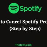 Cancel Spotify Premium