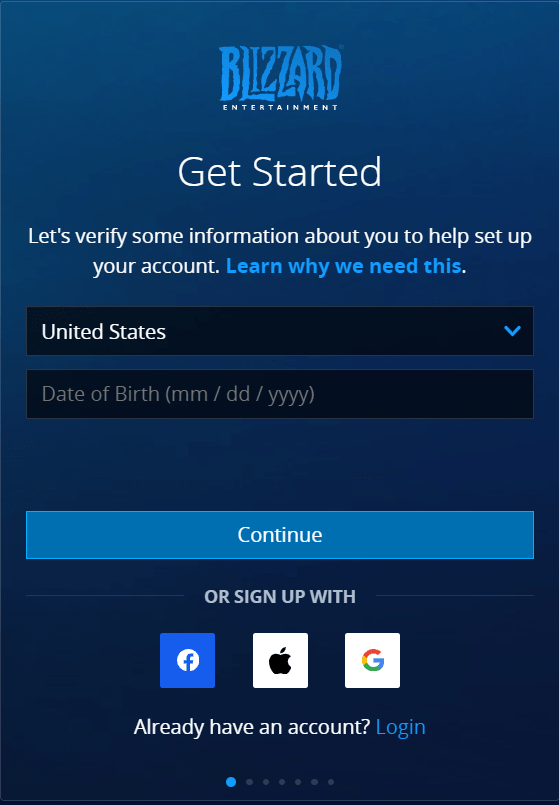 Create An Account On Battle.net