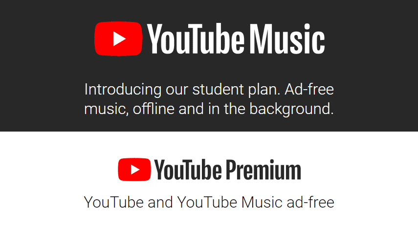 YouTube Premium Student Discount
